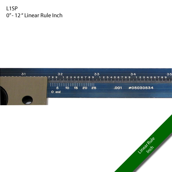 "L1SP 0"" - 12 "" Linear Inches"
