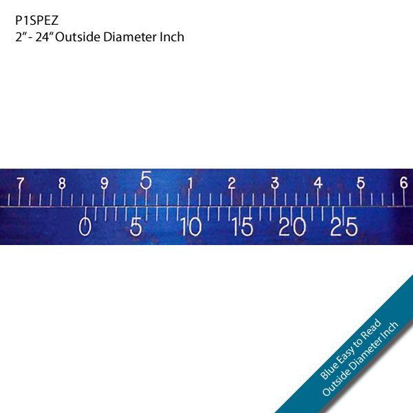 "P1SPEZ 2"" - 24"" Outside Diameter Inch"