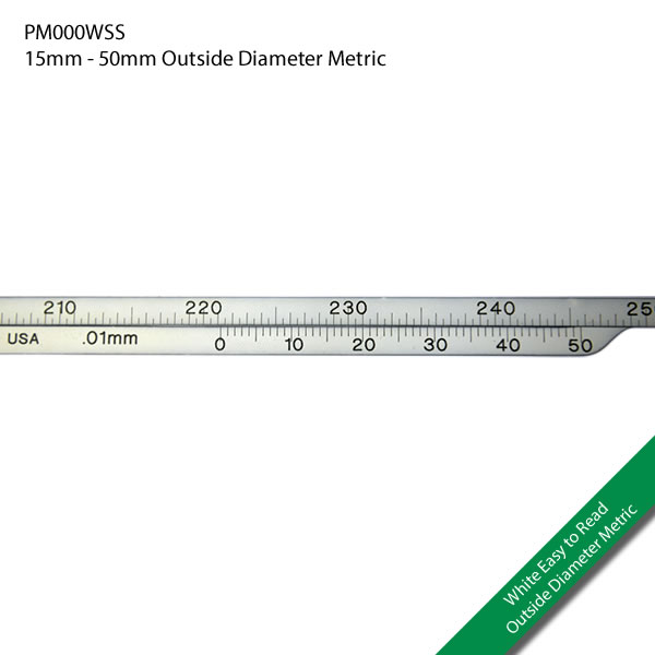 PM000WSS 15 - 50mm Outside Diameter Metric
