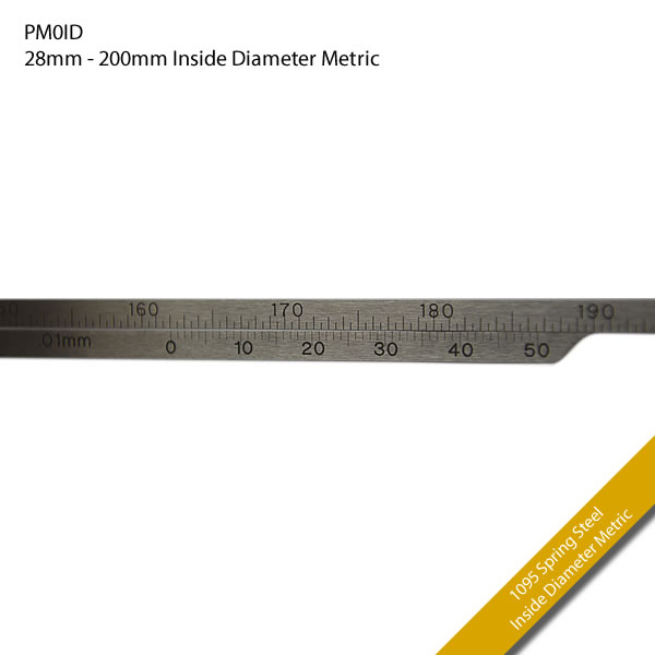 PM0ID 28mm - 200mm Inside Diameter Metric