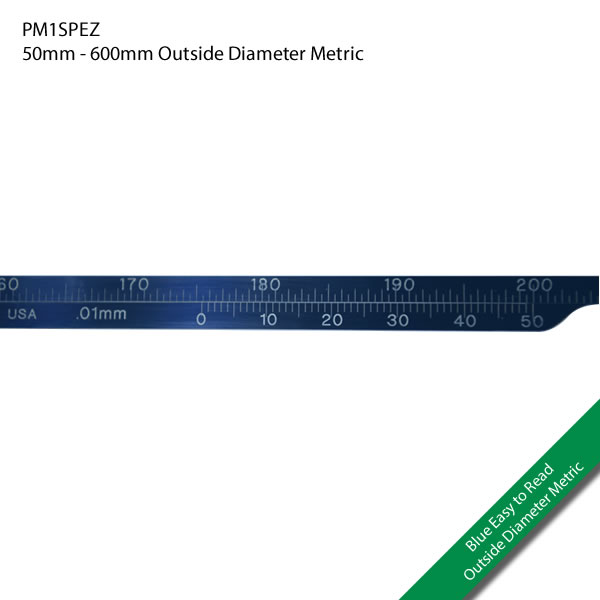 PM1SPEZ 50mm - 600mm Outside Diameter Metric