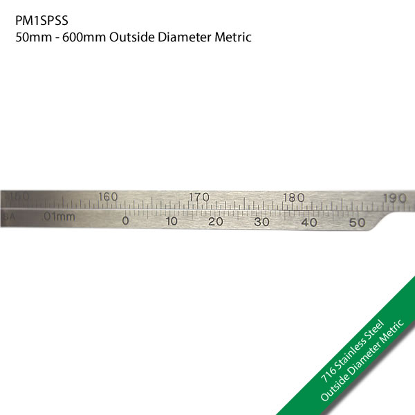 PM1SPSS 50mm - 600mm Outside Diameter Metric