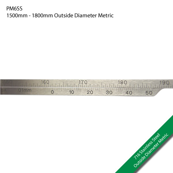 PM6SS 1500mm - 1800mm Outside Diameter Metric