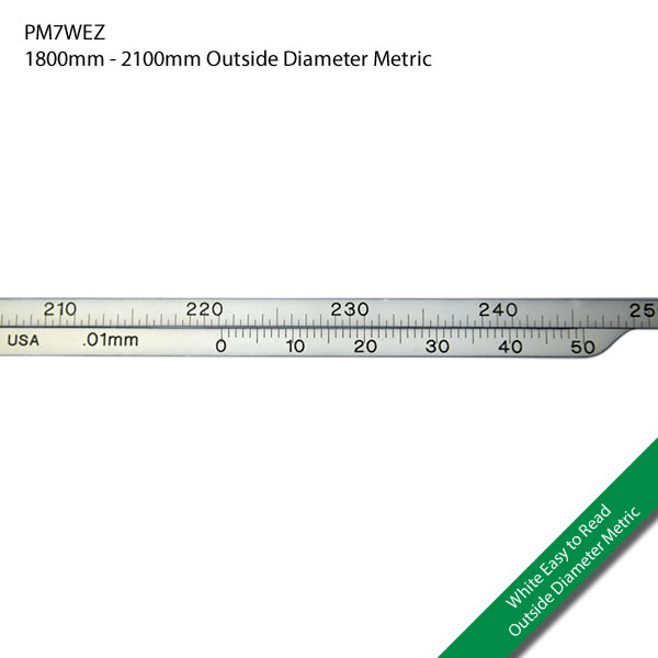 PM7WEZ 1800mm - 2100mm Outside Diameter Metric