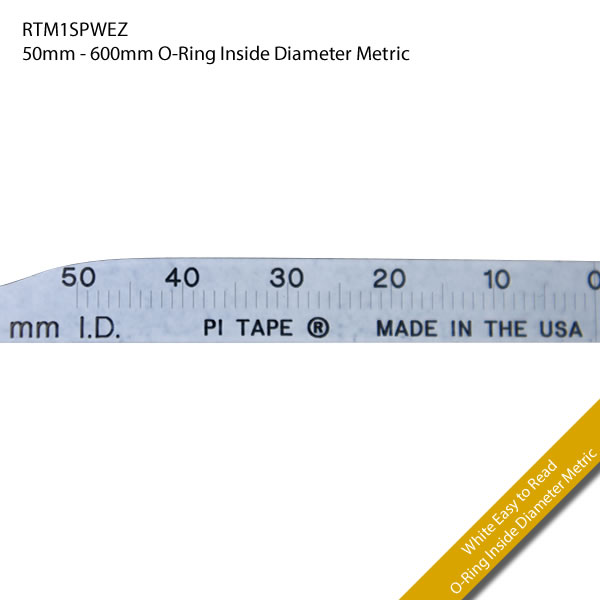 RTM1SPWEZ 50mm - 600mm O-Ring Inside Diameter Metric