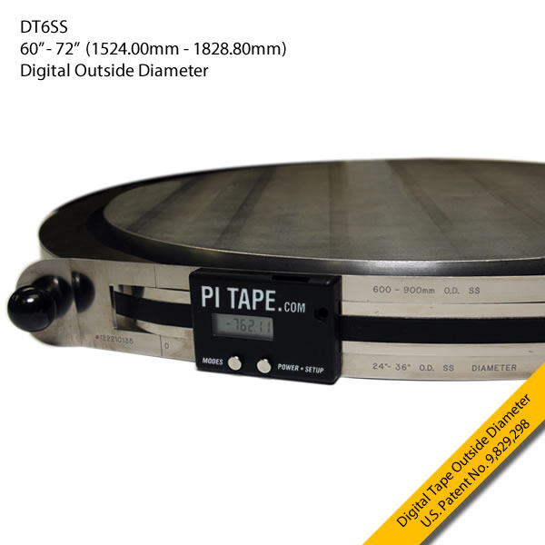 "DT6SS 60-72"" Digital Outside Diameter Inches"